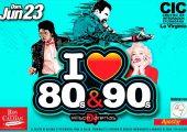 I Love ❤ 80s y 90s por primera vez en La Virginia
