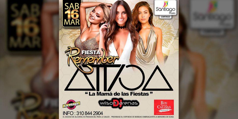 Remember Attica Cartago! 2da edición – Marzo 2019