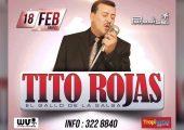 Tito Rojas en Paradise – Super concierto de Salsa en Pereira