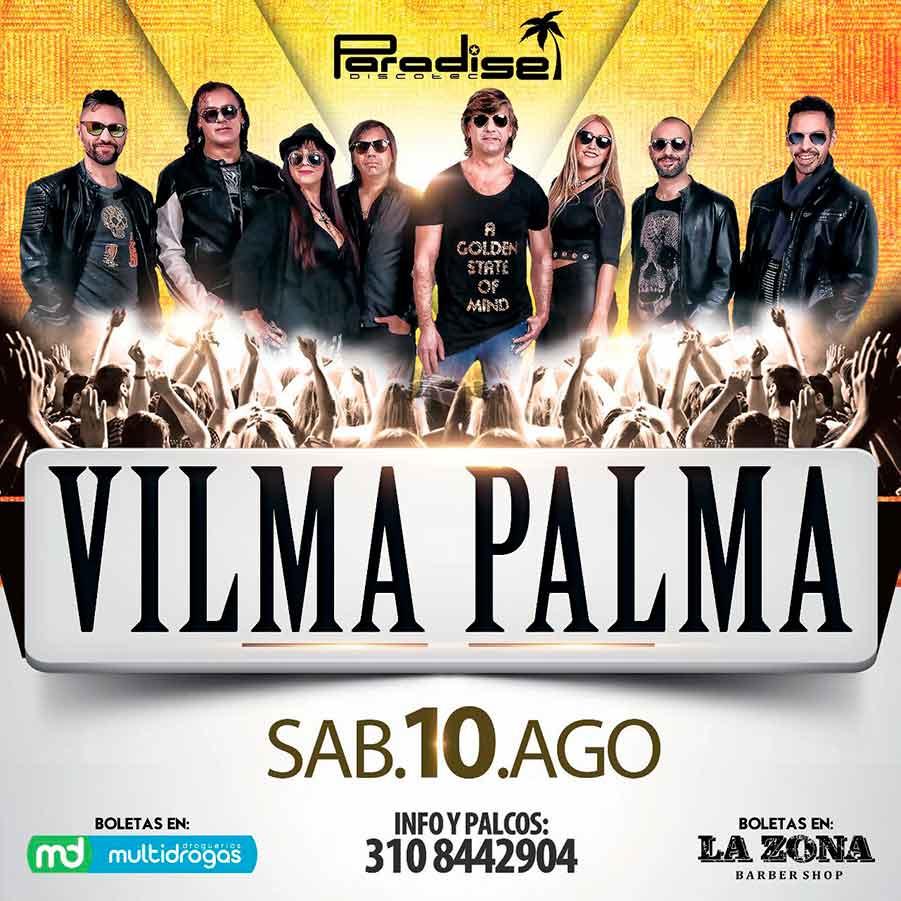Estrenamos sede el próximo 10 de agosto con Vilma Palma
