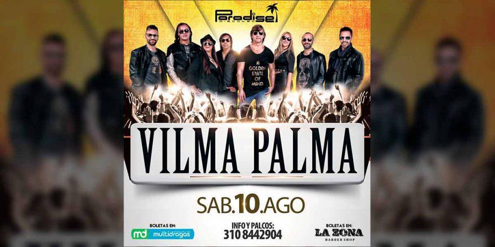 Vilma Palma en Concierto en Pereira, inauguración de la nueva sede Paradise