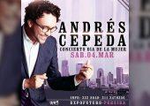 Concierto del Día de la Mujer en Pereira con Andrés Cepeda