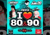 I Love 80s & 90s llega a Cartago – Julio 20