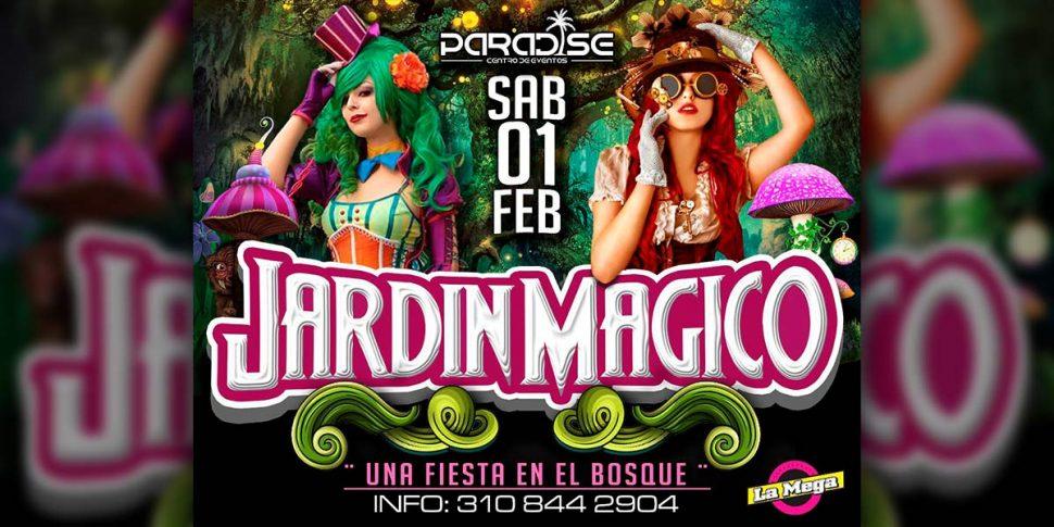 Jardín Mágico – Fiesta electrónica temática en Paradise