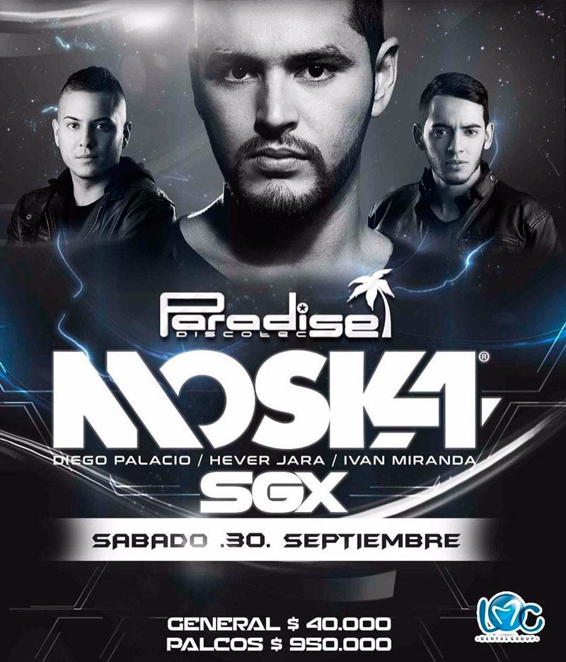 DJ Moska en Paradise