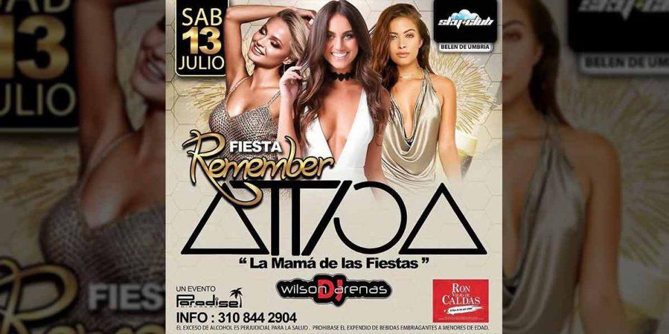 Remember Attica visita Belén de Umbría – Sáb. Julio 13