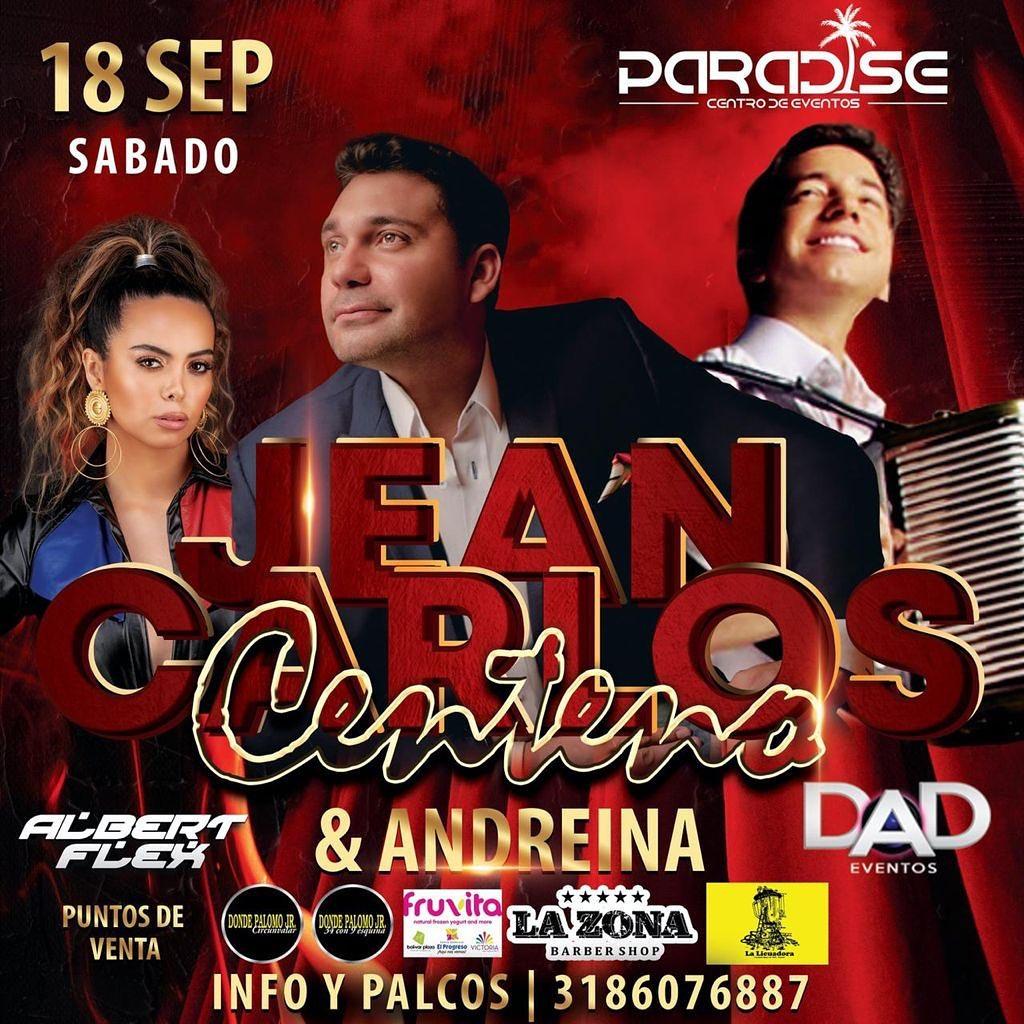 Jean Carlos Centeno en concierto! Septiembre 18